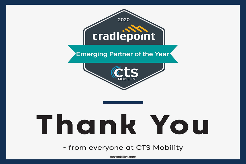 Cradlepoint Recognizes Top Partners at 2020 Virtual Partner Summit